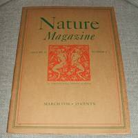 image of Nature Magazine for March 1938