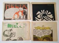 Helix Newspaper (4 Issues: Vol. 5 No. 2, 7, 8, 9) (Oct - Dec 1968)