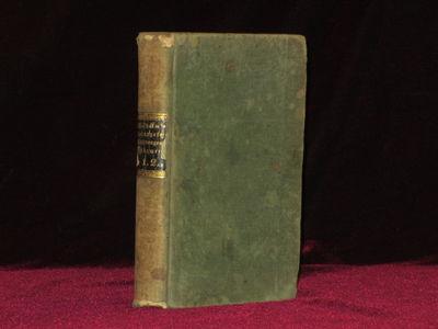 Augsburg: Engelbrechtische Kunsthandlung, 1802. First Edition. 12mo, volume 2, parts 1 and 2 in one ...