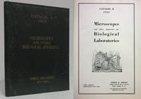 MICROSCOPES AND OTHER APPARATUS FOR BIOLOGICAL LABORATORIES Catalog B 1923 by Author Not Stated - Hardcover - 1923 - from Nick Bikoff, Bookseller (SKU: 5932)