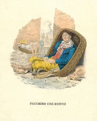 'Facchino Che Dorme' Porter resting in basket. by NEAPOLITAN COSTUME PRINT - from R.G. Watkins Books and Prints (SKU: RGW21338)