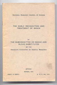 THE EARLY RECOGNITION AND TREATMENT OF SHOCK.  N.R.C. No. 1111.