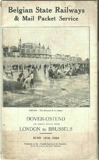 Dover-Ostend the Direct Route from London to Brussels June 15th 1926