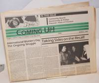 Coming Up! March 1983; International Women\'s Day; the ongoing struggle