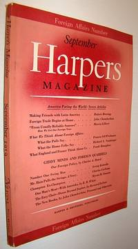 Harper's Magazine, September 1939 - Foreign Affairs Number