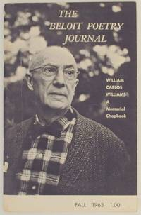 Beloit Poetry Journal Volume 14 Number 1 Fall 1963 William Carlos Williams: A Memorial Chapbook