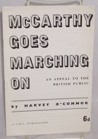 McCarthy goes marching on; an appeal to the British public