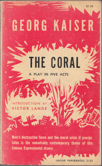 image of The Coral a Play in Five Acts