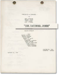 image of The Tattered Dress (Original post-production screenplay for the 1957 film)