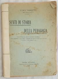 SUNTI DI STORIA DELLA PEDAGOGIA