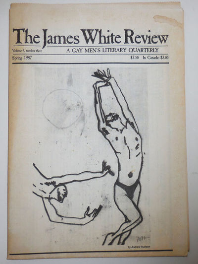 Minneapolis: The James White Review, 1987. First edition. Paperback. Very Good. Folded tabloid newsp...