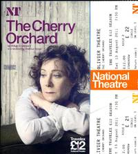 The Cherry Orchard: Souvenir Theatre Programme Performed at Olivier Theatre, London + Tickets