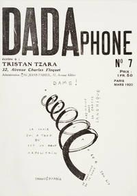 Dada. No. 7: Dadaphone.  Editor: Tristan Tzara.