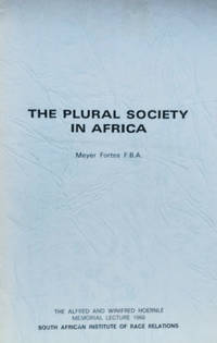 The Plural Society in Africa
