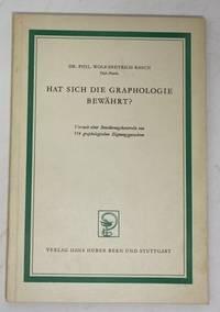 Hat Sich Die Graphologie Bewährt? Versuch Einer Bewährungskontrolle Von  114...