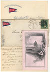 View Image 1 of 3 for Invitation to participate in the Cleveland Yachting Association 1880 Inter-Lake Regatta Inventory #009374