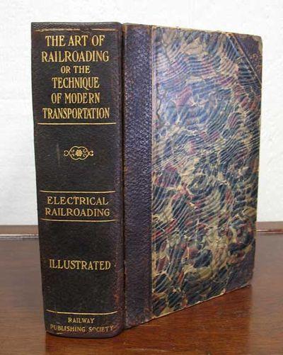 Chicago: Frederick J. Drake, 1908. 1st edition. Original publisher's brown pebbled half leather bind...