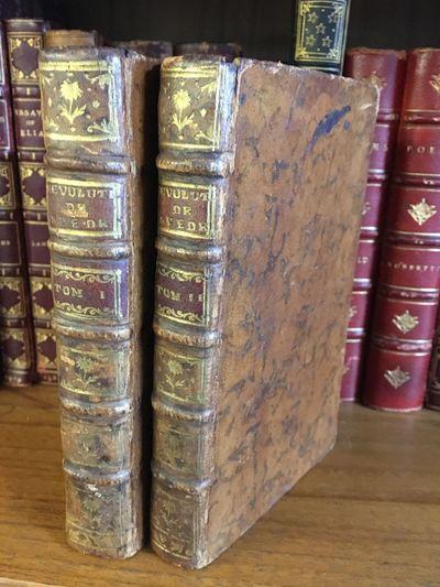 Paris: Chez Delalain, 1768. Hardcover. Octavos, 2 volumes; VG; bound in full contemporary acid-washe...