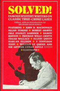 image of Solved!  Famous Mystery Writers On Classic True-Crime Cases