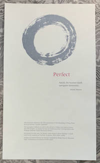 Perfect by Michael Hannon - Paperback - First Edition, thus - 2019 - from John Howell for Books (SKU: CC2019-001)
