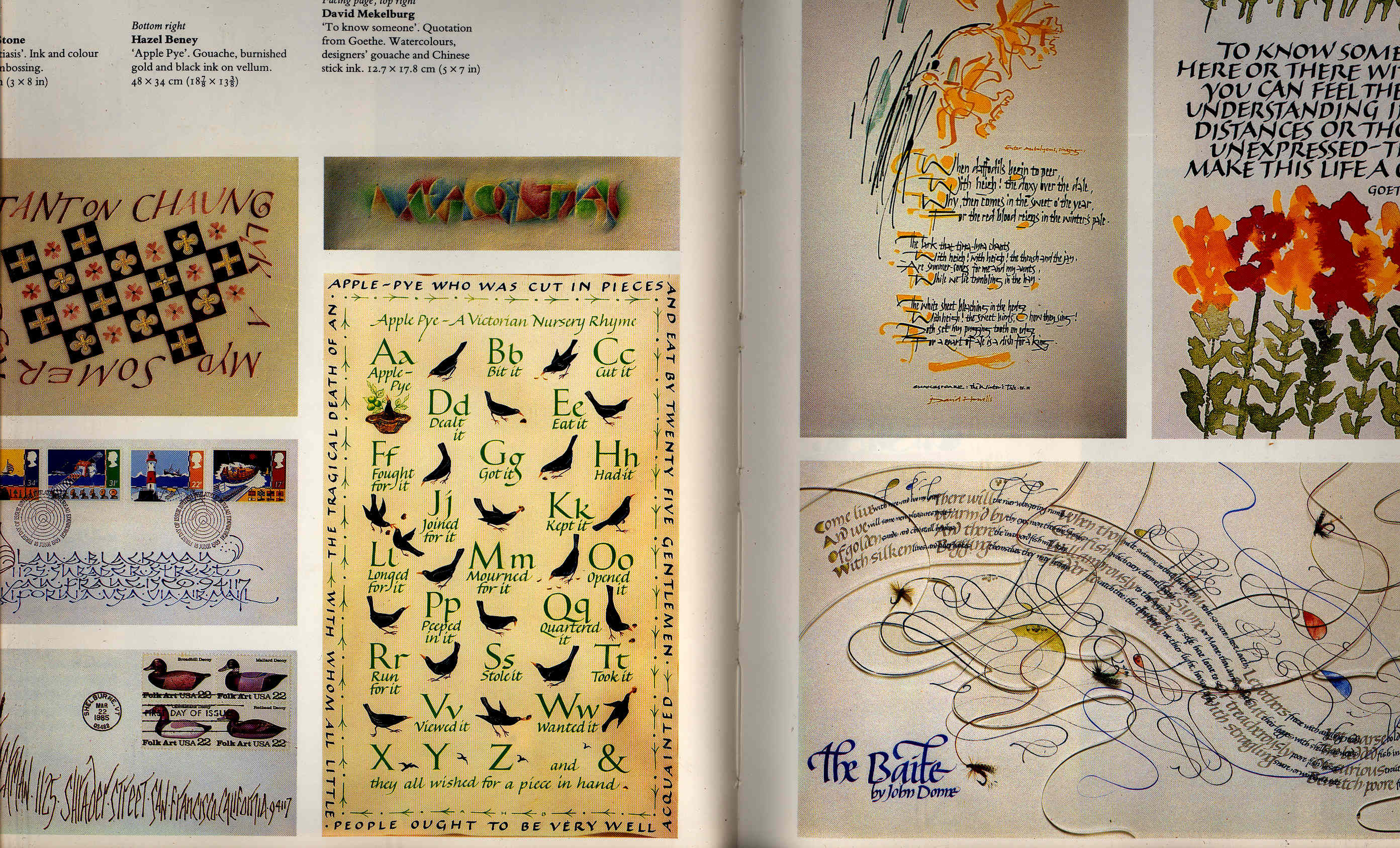 Contemporary Calligraphy Modern Scribes And Lettering