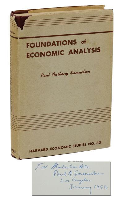 Cambridge, MA: Harvard University Press, 1961. Very Good+/Good+. Inscribed