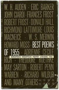 Best Poems of 1955: Borestone Mountain Poetry Awards 1956