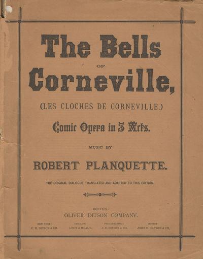 Boston: Oliver Ditson, 1879. Quarto. Original publisher's light brown wrapperswrappers. 1f. (recto t...
