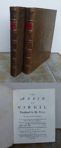 AENEID  in XII BOOKS. by  Maro Publius.  PITT TRANSLATION.: VIRGILIUS - First Edition - from Roger Middleton (SKU: 32191)
