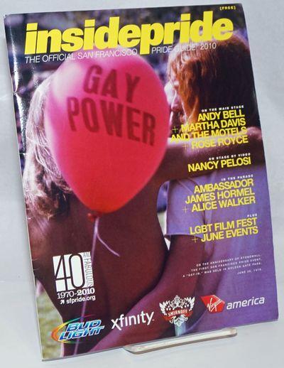 San Francisco: HAF Enterprises, 2010. Magazine. 80p., 8.5x11 inches, calendar of events, parade map,...