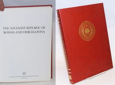 Zagreb: Jugoslavenski Leksikografski Zavod, 1983. Hardcover. xviii+276p., 8.5x11.5 inches, red leath...