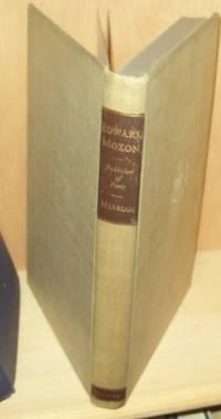 Edward Moxon Publisher of Poets