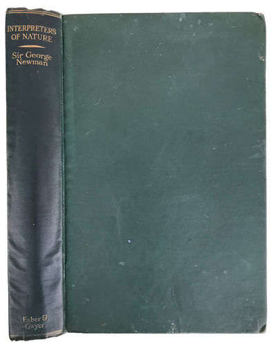London:: Faber & Gwyer, 1927., 1927. 8vo. 296 pp. Index. Dark green gilt-stamped cloth; minor wear t...