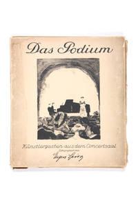 image of Das Podium.; Künstlergesten aus dem Concertsaal