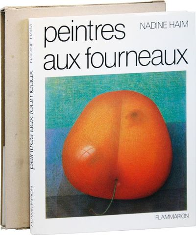 Paris: Flammarion, 1985. First Edition. Quarto. Cloth boards; dustjacket and unprinted card slipcase...