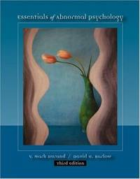 image of Essentials of Abnormal Psychology (Casebound Version with CD-ROM, Practice Tests, and InfoTrac)