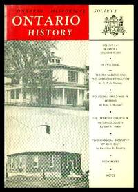 image of ONTARIO HISTORY - Volume 56, number 4 - December 1964