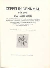 Zeppelin-denkmal für das deutsche volk, aus anlass des fünfundzwanzigjährigen jubiläums des ersten luftschiff-aufstiegs des grafen Zeppelin g.m.b.h., Friedrichshafen a. B.