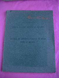 CEYLON MARINE BIOLOGICAL REPORTS NO. 4 ECOLOGICAL ANS SYSTEMATIC STUDIES OF THE CEYLON SPECIES OF CAULERPA