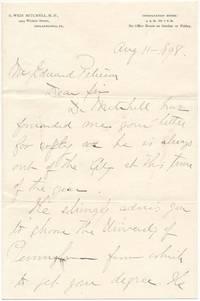 Autograph Letter Signed (secretarial)