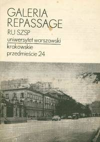 image of Galeria Repassage. Repassage miejski. 9.06.1974 [Gallery Repassage. Municipal Repassage]