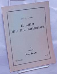 image of La Libertá Nelle Crisi Rivoluzionarie
