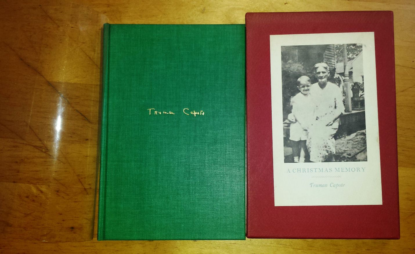 Truman Capote A Christmas Memory.A Christmas Memory By Truman Capote Signed First Edition 1966 From Charles Agvent And Biblio Com