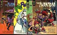 THE PHANTOM 16, 17, 20, 21 4 ISSUES 1966-7 .12c