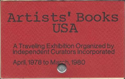 Ca. 150 catalogue cards bolted. Washington, D.C. & New York: Independent Curators Incorporated, 1978...