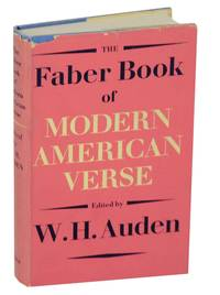 The Faber Book of Modern American Verse