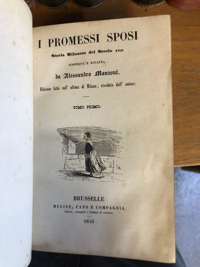Brusselle: Meline, Cans e Compagnia, 1843. Hardcover. Octavos, 2 volumes; VG; bound in contemporary ...