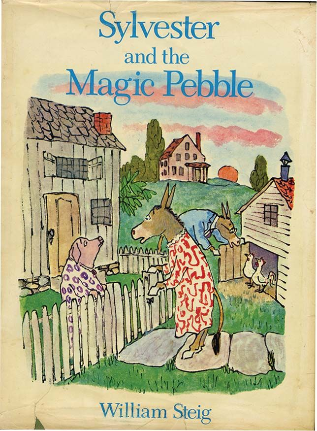 Sylvester and the magic pebble by william steig from for Sylvester and the magic pebble coloring page