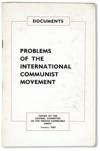 Documents - Problems of the International Communist Movement