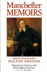 image of Manchester Memoirs : Special Commemorative Dalton Edition : Vol 142 2003-2004